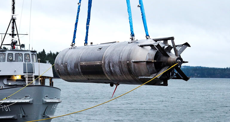 NAVSEA Issues Draft RFP For Submarine-Launched 'Snakehead' LDUUV