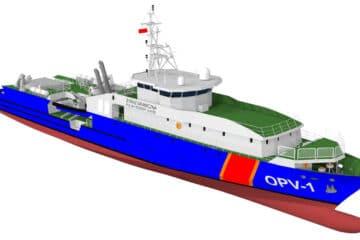 Polish Coast Guard Procures OPV from French Shipyard SOCARENAM