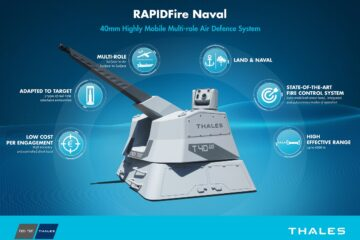RAPIDFire: Thales and Nexter to equip French Navy ships with new CIWS system