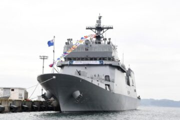 ROK Navy took delivery of first-ever dedicated training ship