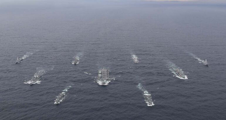HMS Queen Elizabeth and her Carrier Strike Group