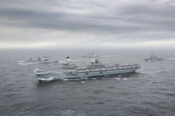 HMS Queen Elizabeth assumes role as new flagship of the Royal Navy
