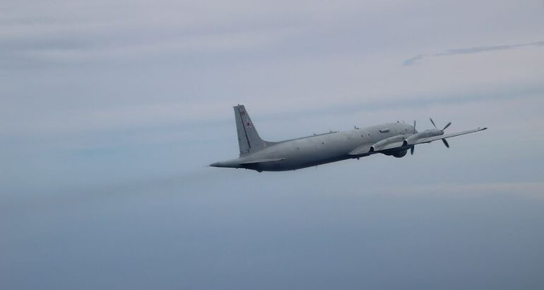 Russian Pacific Fleet's Il-38 MPA Practice Offensive Mine Warfare in Sea of Japan