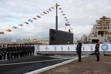 Russia's Pacific Fleet Accepts Delivery of Second Project 636.3 Submarine