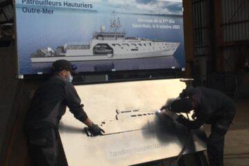 SOCARENAM Begins Construction on French Navy's POM OPV