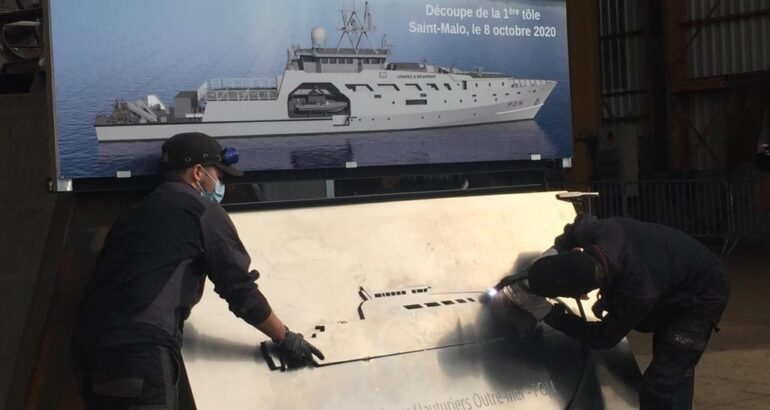 SOCARENAM Begins Construction on French Navy's POM Offshore Patrol Vessels