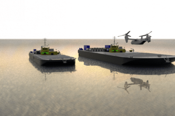 Sea Machines selected by US DoD for Autonomous VTOL Replenishment Vessels