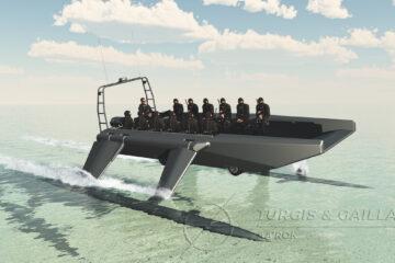 Euronaval: Turgis and Gaillard presents the KRAKEN amphibious assault boat