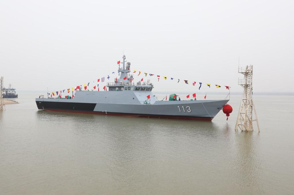 Third Littoral Mission Ship For Royal Malaysian Navy Launched In China