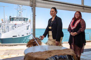 Tonga receives its second Guardian-class patrol boat