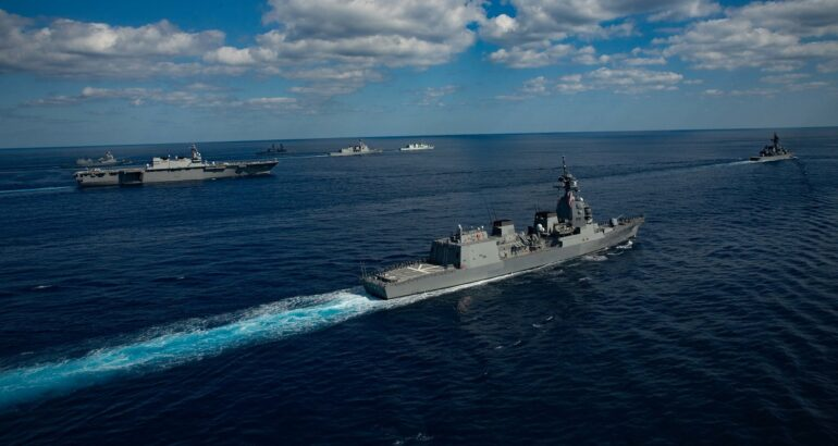 U.S. military and Japan Self-Defense Forces kick off Keen Sword