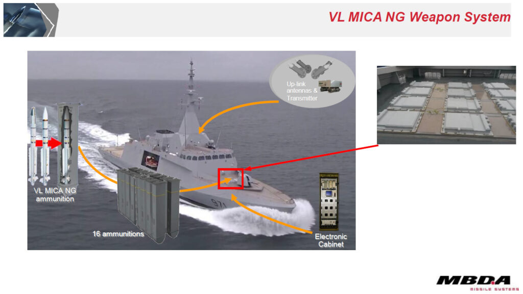 VL MICA NG Weapon System
