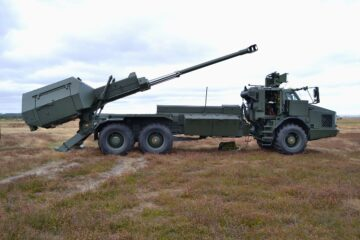 Analysis: 155mm Wheeled Mobile Howitzers Could Become Anti-Ship Artillery