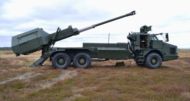 155mm Wheeled Mobile Howitzers Could Become Anti-Ship Artillery