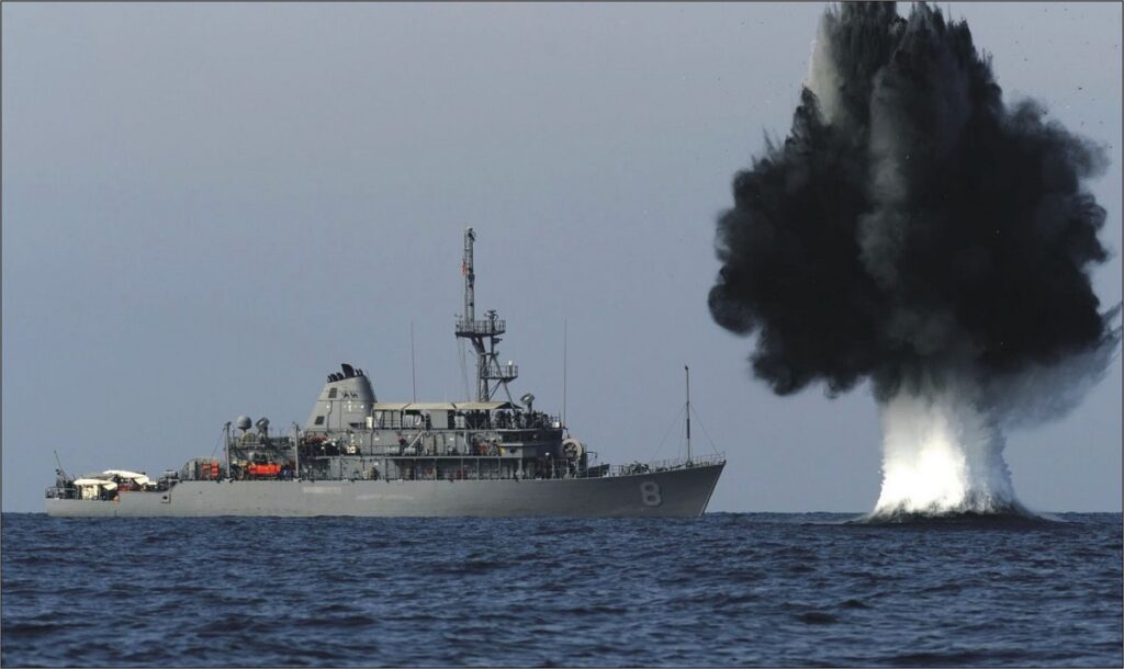 Dealing With the Threat of Adversary Sea Mines