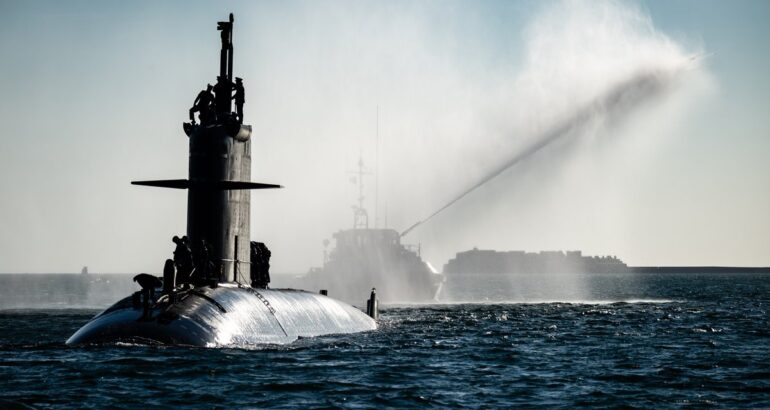 Royal Australian Navy hosts French Navy Submarine and Support Vessel