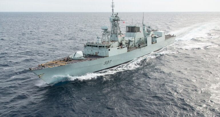 GDMS Canada Wins Contract for Support of Halifax-class Combat Systems