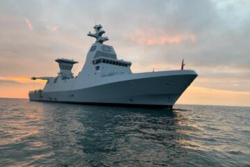 First Sa'ar 6-class Corvette Expected in Israel for December