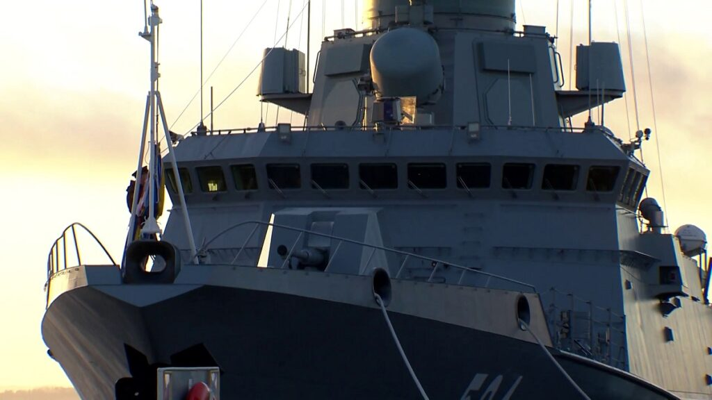 The Odintsovo Karakurt-class corvette of project 22800