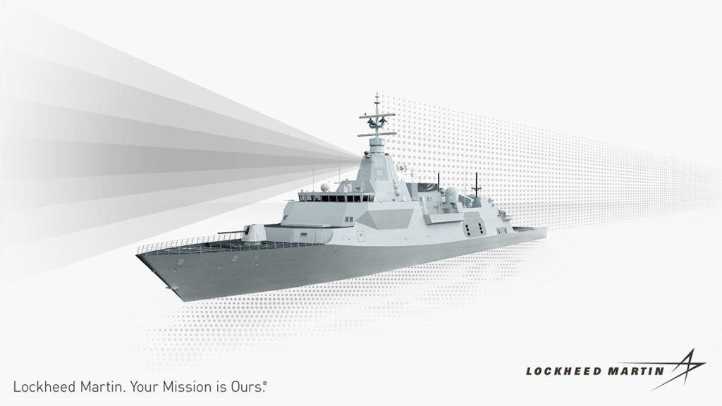 Lockheed Martin SPY-7 radar aboard the future CSC