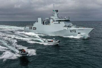 Pakistan Navy Commissions Second Yarmook-class Corvette
