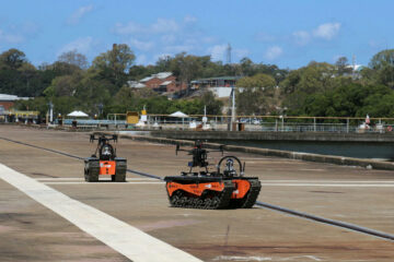 Australian Navy explores use of robots, AI for counter-disaster operations