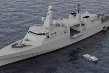 Royal Navy's New Type 32 Frigate to Serve as Unmanned Systems Mothership