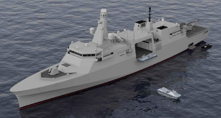 Royal Navy's Type 32 Frigate to Serve as Unmanned Systems Mothership