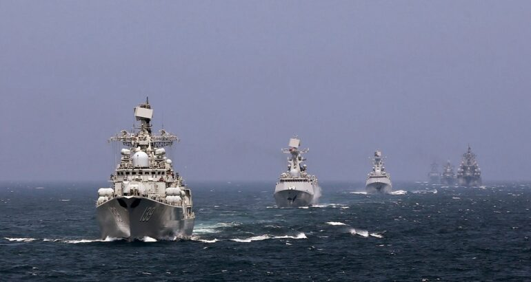 Russia Could Cooperate with China in the Naval Field to Achieve Parity with the West