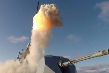 Russian Navy Frigate Admiral Kasatonov Test-Fires Kalibr Cruise Missile