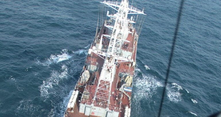 Vishnya Class Spy Ship of the Russian Navy