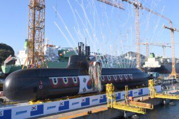 South Korea's DSME Launches 2nd KSS III Submarine for ROK Navy
