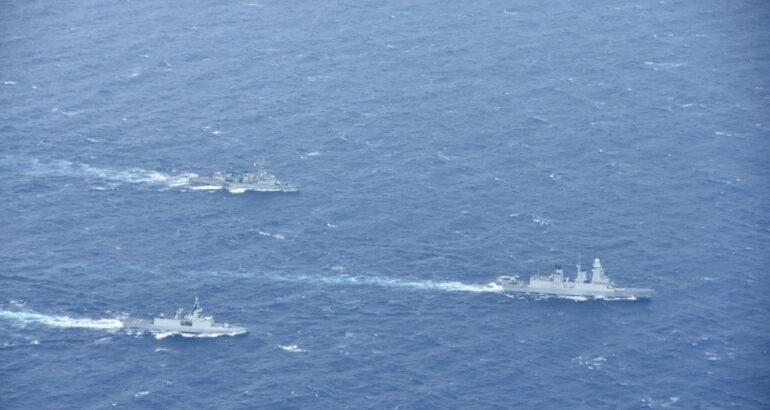 Strong French Navy Presence in the Eastern Mediterranean