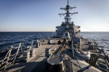 USS John S. McCain conducts Freedom of Navigation Operation near Russia