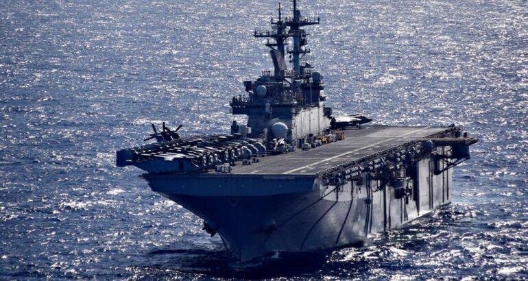 USS Wasp LHD 1 US Navy