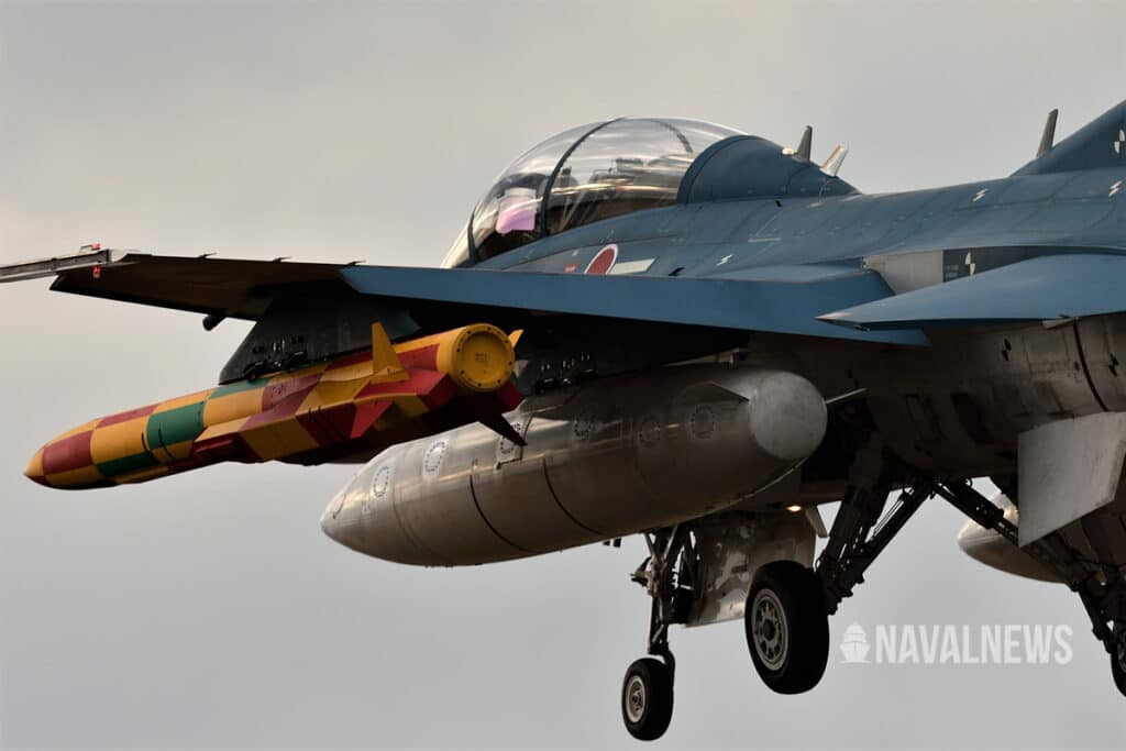 ASM-3 anti-ship missile on JASDF F-2 Fighter