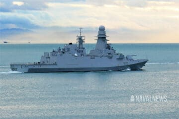 First Italian-Built FREMM delivered to Egypt Reaches Alexandria