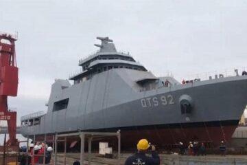 Anadolu Shipyard Launched Second Training Ship For Qatari Navy