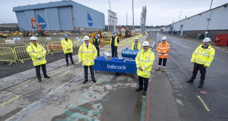 Babcock invests in advanced shipbuilding facility for Type 31