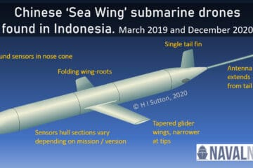 Chinese Submarine Drone Discovered Near Gateway To Indian Ocean
