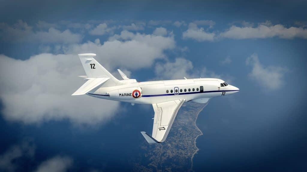 Albatros aircraft at high altitude