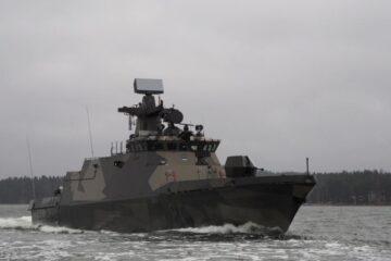 Finnish Navy receives 2nd modernized Hamina-class missile boat