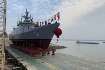 Fourth and Final LMS For Royal Malaysian Navy Launched In China