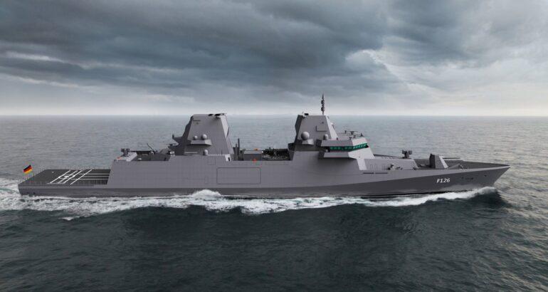 German Navy's MKS 180 Multi-Purpose Combat Ship Program Renamed F126