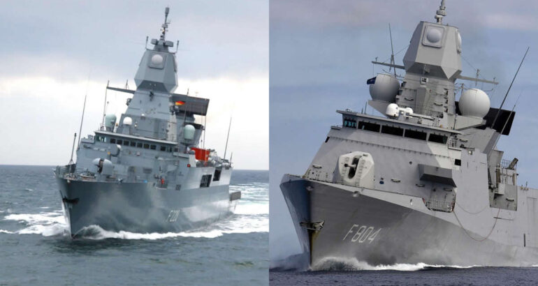 Germany and the Netherlands Joining Forces for F-124 LCF Frigate Replacement