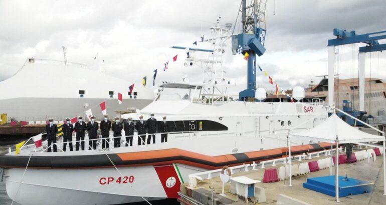 Intermarine Launches New SAR Patrol Boat for Italian Coast Guard