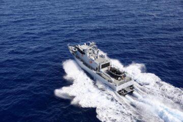 Israel Shipyards Delivers  Final Shaldag fast patrol boats to Senegal