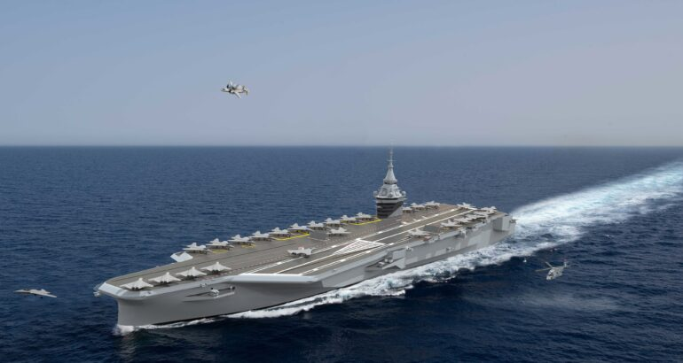 France's New Aircraft Carrier Will be Nuclear Powered
