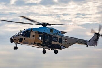 Qatar's New NH90 NFH Helicopter Makes First Flight