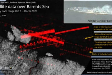 Hidden Threat To Navies: How Freely Available Satellite Imagery Can Track Radars